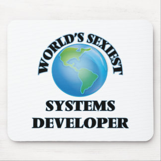 World's Sexiest Systems Developer Mouse Pads