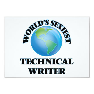 World's Sexiest Technical Writer Card