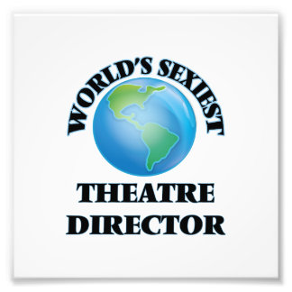 World's Sexiest Theatre Director Art Photo