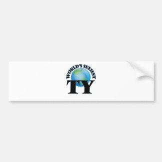 World's Sexiest Ty Bumper Sticker