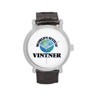 World's Sexiest Vintner Wrist Watches