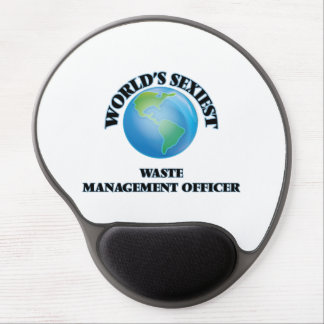 World's Sexiest Waste Management Officer Gel Mouse Pad
