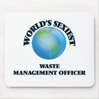 World's Sexiest Waste Management Officer Mousepads