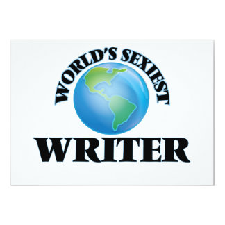 World's Sexiest Writer Announcements