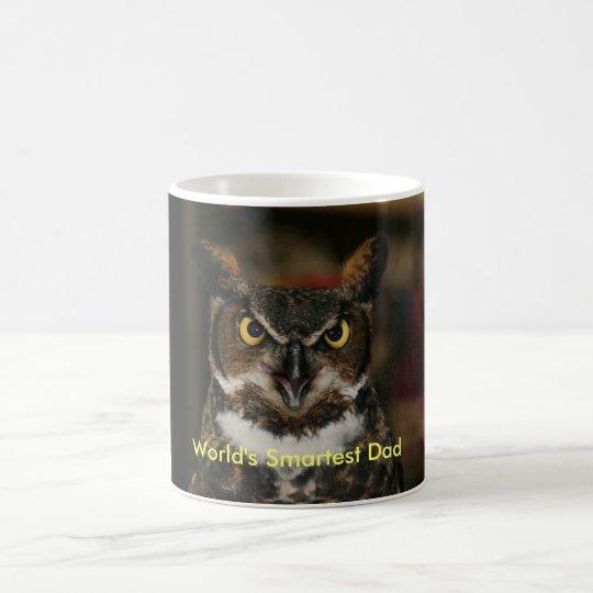 World's Smartest Dad Owl Mug