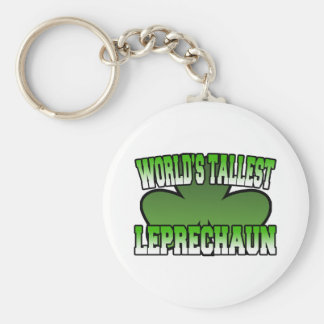 World's Tallest Leprechaun Keychain