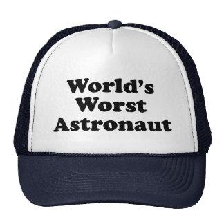 World's Worst Astronaut Cap