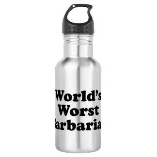 World's Worst Barbarian 532 Ml Water Bottle