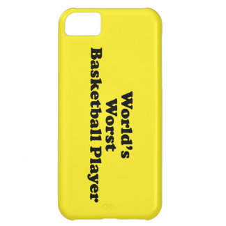 World's Worst Basketball Player iPhone 5C Covers