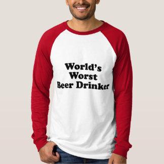 World's Worst Beer Drinker T-Shirt