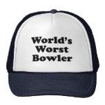 World's Worst Bowler Cap