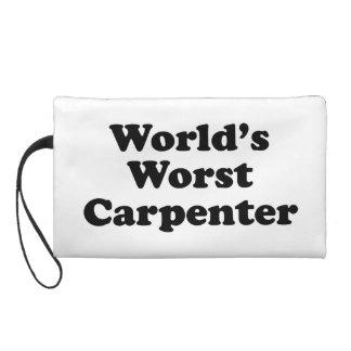 World's Worst Carpenter Wristlet Purses