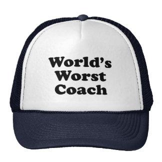 World's Worst Coach Cap