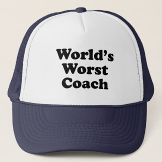 World's Worst Coach Trucker Hat