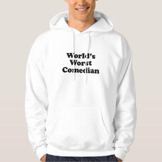 World's Worst Comedian Hoodie