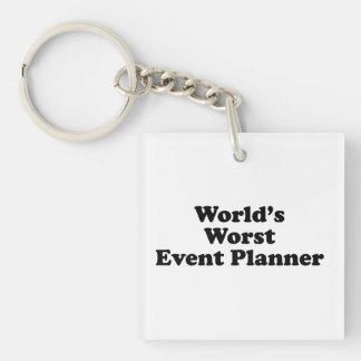 World's Worst Event Planner Key Chain