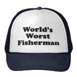 World's Worst Fisherman Cap