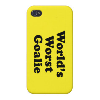 World's Worst Goalie Cover For iPhone 4