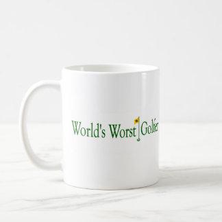 World'S Worst Golfer Basic White Mug