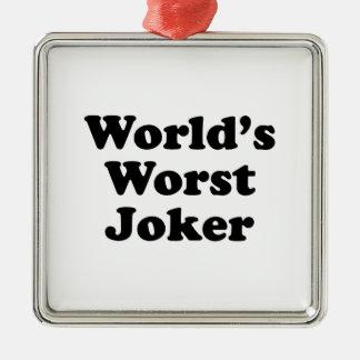 World's Worst Joker Christmas Tree Ornament
