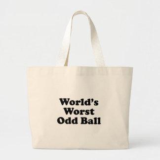 World's Worst Odd Ball Tote Bag