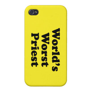 World's Worst Priest Cases For iPhone 4