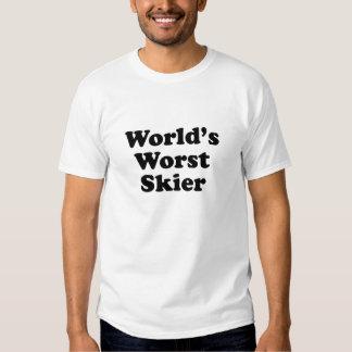 World's Worst Skier Tshirt