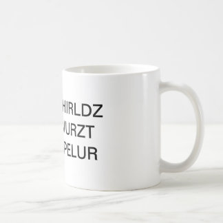 World's Worst Speller Mug
