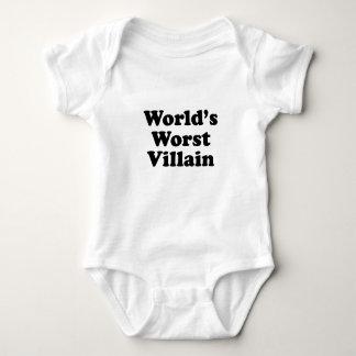 World's Worst Villain Tshirt
