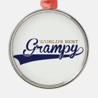 WorldsBestGrampyTee-01 Christmas Ornament