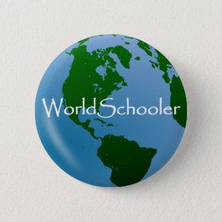 WorldSchooler Pin Badge