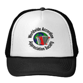Worldwide Accordion Appreciation Society Mesh Hats