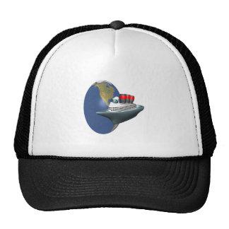 Worldwide Cruise Hats