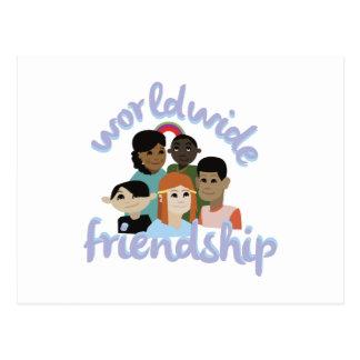 Worldwide Friendship Postcard