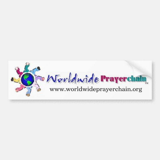 Worldwide Prayer Chain Bumper Sticker