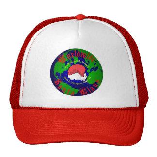 Worldwide Santa Claus Trucker's Ball Cap