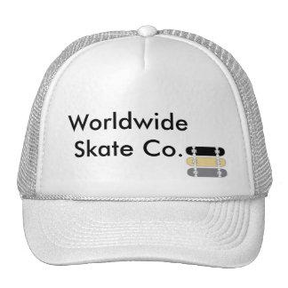 WORLDWIDE SKATE CO. TRUCKER HAT