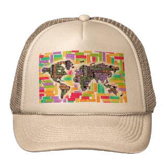 Worldwide Travel Trucker Hat
