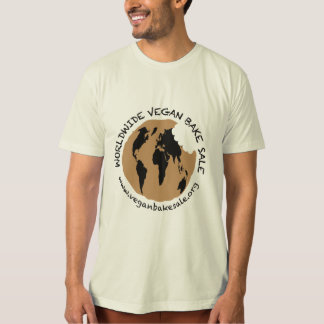Worldwide Vegan Bake Sale shirt by Amber Ford