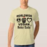 Worldwide Vegan Bake Sale shirt by Bonnie Goodman
