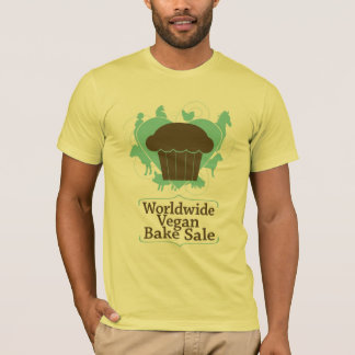 Worldwide Vegan Bake Sale shirt by Jessi Van Pelt