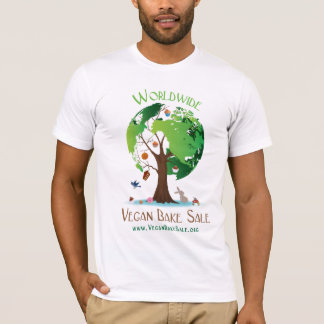 Worldwide Vegan Bake Sale shirt by Reagan Kimball
