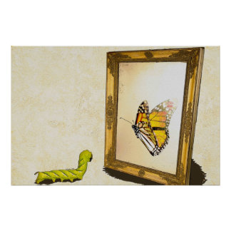 Worm and the Mirror! Poster