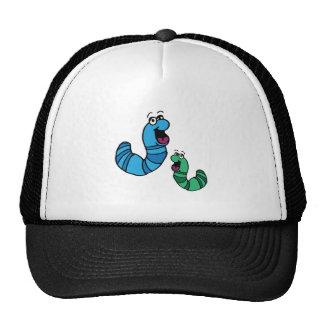 Worm Bugs Mesh Hat