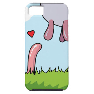 Worm Love iPhone 5 Covers