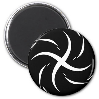 Wormhole 6 Cm Round Magnet