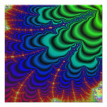 Wormhole Fractal, Space Tube Photo Print