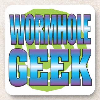 Wormhole Geek v3 Drink Coasters