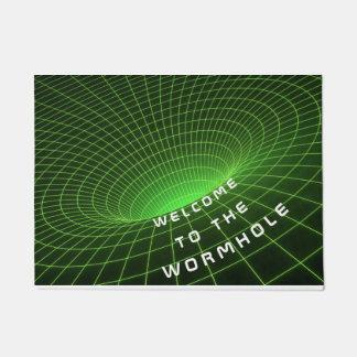 wormhole space astronauts welcome door mat