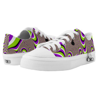 Wormhole Technology Pattern Printed Shoes